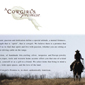 A Cowgirl's Promise website